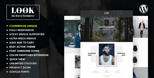 Look – Responsive Multi-Purpose Woocommerce WordPress Theme (eCommerce)