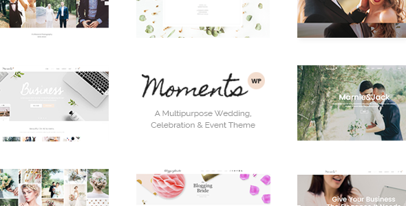 Moments – A Multipurpose Wedding, Celebration & Event Theme (Wedding)